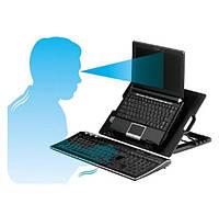 Охлаждающая подставка для ноутбука c USB ColerPad ErgoStand Black
