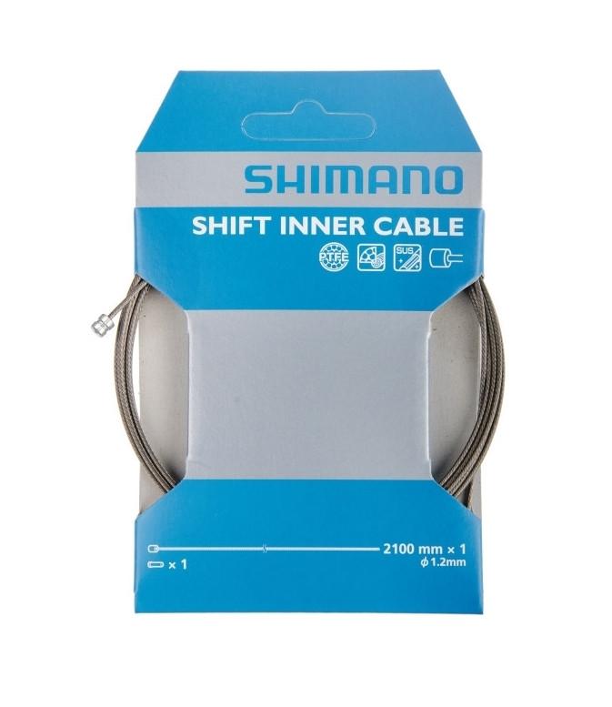 Трос перемикання Shimano PTFE 2100Х1.2мм, нерж.