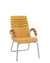 Кресло руководителя GALAXY (Гелакси) wood CFA LB chrome