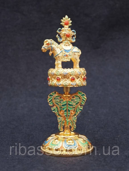 9070185  Алтарный буддийский символ h = 15 см. №2