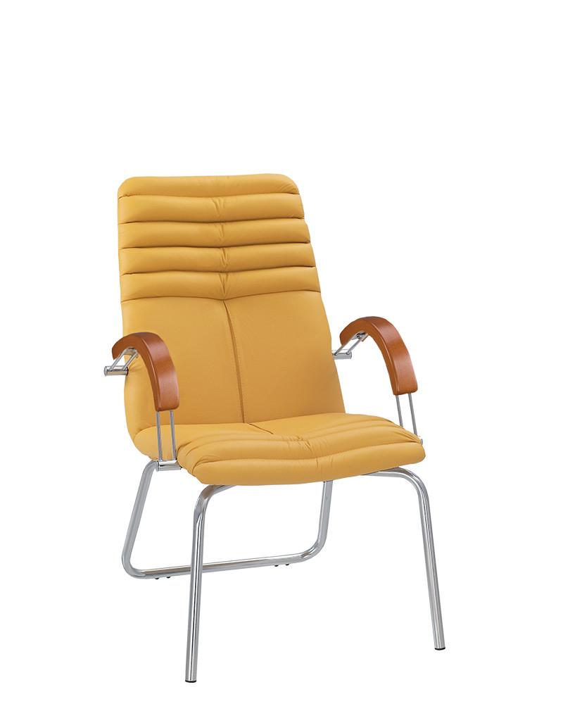 Кресло руководителя GALAXY (Гелакси) wood CFA LB chrome (BOX-2)