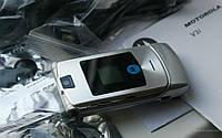Мобильный телефон Motorola RAZR V3i V3 Silver раскладушка