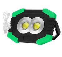 Светильник на солнечной батарее 8Вт с USB Power Bank  с боковым фонариком