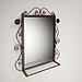 Передпокій ковані Річмонд (пуф+дзеркало+вішалка настінна), фото 2