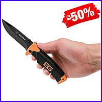 Нож складной Gerber Bear Grylls Ultimate стальной для охоты, рыбалки и туризма, нож Гербер для выживания