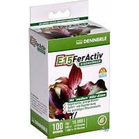 Железосодержащее удобрение Dennerle, длительного действия, для всех аквариумных растений, в таблетках, E15 FerActiv, 100 шт.