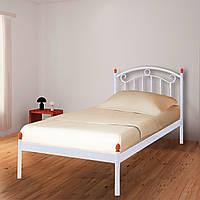 Кровать металлическая односпальная Монро