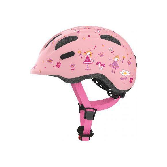 Дитячий шолом ABUS SMILEY 2.0 Rose Princess, розмір M