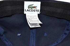 Кепка фулка Classic Lacoste 57-59 см темно-синяя (C 0919-294), фото 3