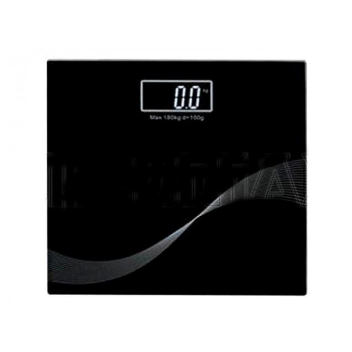 Электронные напольные весы Domotec WH-1604 до 180 кг ЧЁРНЫЕ