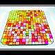 Электронные напольные весы Domotec MS-2019 до 180 кг с ЖК дисплеем Разноцветные квадратики, фото 2