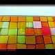 Электронные напольные весы Domotec MS-2019 до 180 кг с ЖК дисплеем Разноцветные квадратики, фото 3