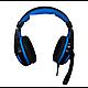 Игровые проводные наушники G-Listen G1 с микрофоном Чёрные с Синим, фото 2