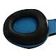 Игровые проводные наушники G-Listen G1 с микрофоном Чёрные с Синим, фото 4