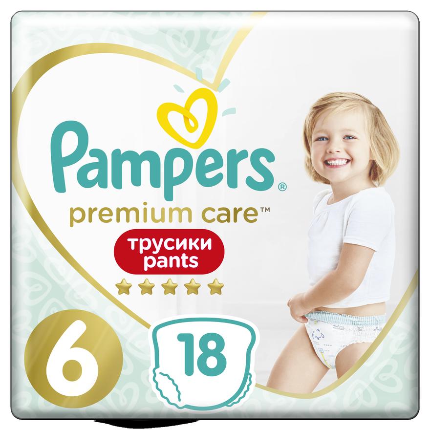 Подгузники-трусики Pampers Premium Care Pants 6 Extra Large (15+ кг) №18