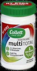 Мультивитамины Collett Multi Total - 100 таблеток, Норвегия
