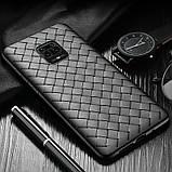 PU чехол-накладка Epik Weaving series для Xiaomi Redmi Note 9s / Note 9 Pro / Note 9 Pro Max, фото 3