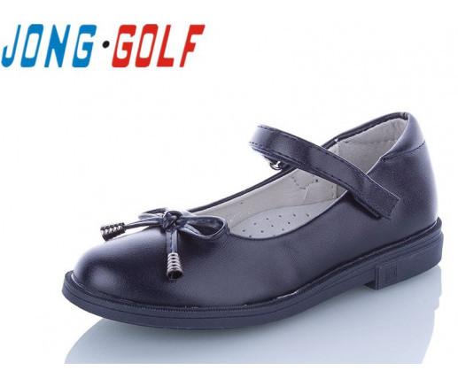 Туфли подросток синие,туфли детские школьные на девочку Jong-Golf-B10093-1