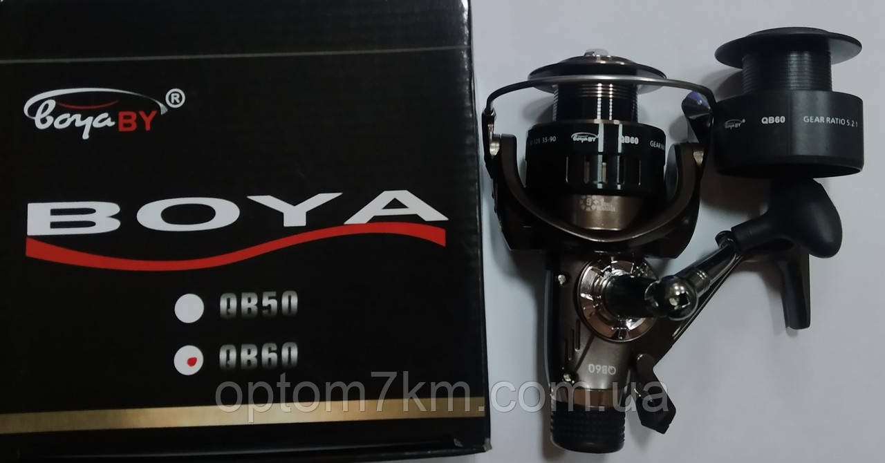 Катушка BoyaBy QB50, 9+1bb