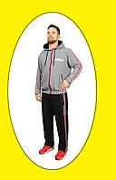 Мужской спортивный костюм, демисезонный , р-р 48-58