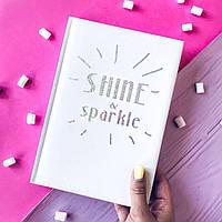 Планер (щоденник, ежедневник) Shine Розовый
