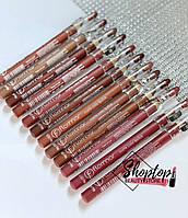 Набор нюдовых матовых карандашей-помад для губ Flomar