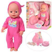 Кукла Пупс Baby Born (Беби Борн) 42 см, 8 функций, 9 аксессуаров
