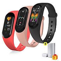 Смарт часы Xiaomi Mi Band M5 / Фитнес-браслет для спорта / Трекер + ПОДАРОК!