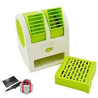 Настольный мини кондиционер USB Electric Mini Fan / Увлажнитель воздуха / Вентилятор + ПОДАРОК!