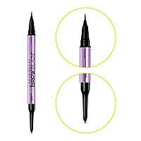 Двосторонній олівець для брів Urban Decay Brow Blade: Ink Stain + Waterproof - Brown Sugar (3605971774638)