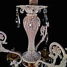 Люстра кришталева на 6 ламп JB-29671/6 WTL+WT, фото 3