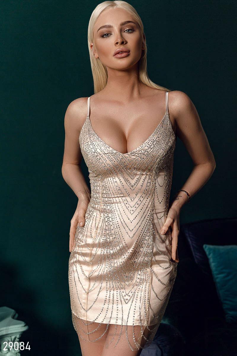 Соблазнительное вечернее платье S M