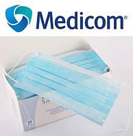Акция !!! Маски медицинские Medicom (1 ШТУКА) 50 шт в упаковке