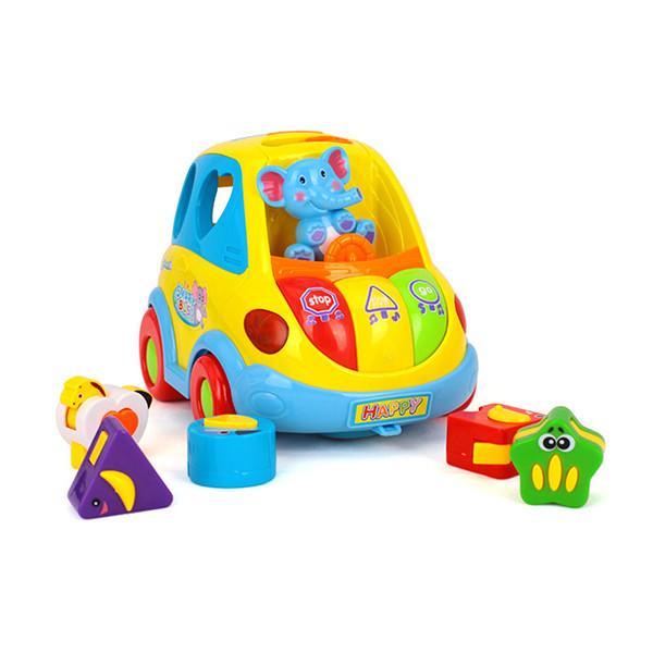 """Игрушка-Сортер """"Умный автобус"""" Hola Toys 896"""