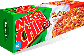 Белорусские картофельные чипсы пицца пепперони