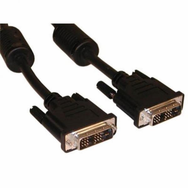 Кабель мультимедийный DVI to DVI 24+1pin, 3.0m Atcom (9148)