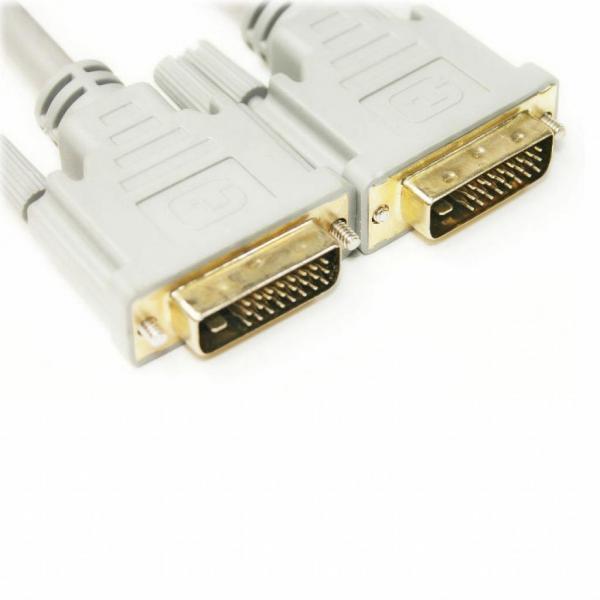Кабель мультимедийный DVI-D to DVI-D 1.5m PowerPlant (KD00AS1283)