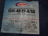 Масло моторное Агринол 15W-40 CF-4/SG (Канистра 60л/52кг)