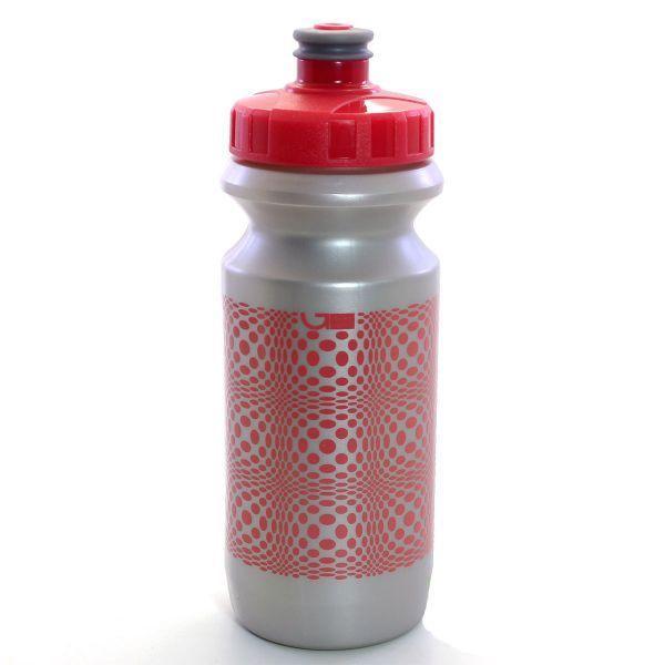 Фляга 0,6 Green Cycle DOT серебристая бутылка, розовые крышка и рисунок BOT-81-41