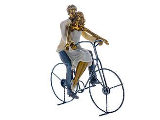 Статуэтка Lefard Пара на велосипеде 26х12х26 см 192-072