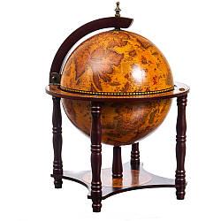 Глобус-Бар напольный Lefard 56х41х41 см Оранжевый 10504-003