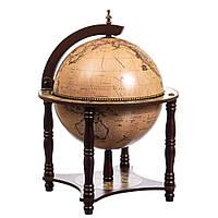 Глобус-Бар напольный Lefard 56х42х42 см Бежевый 10504-002