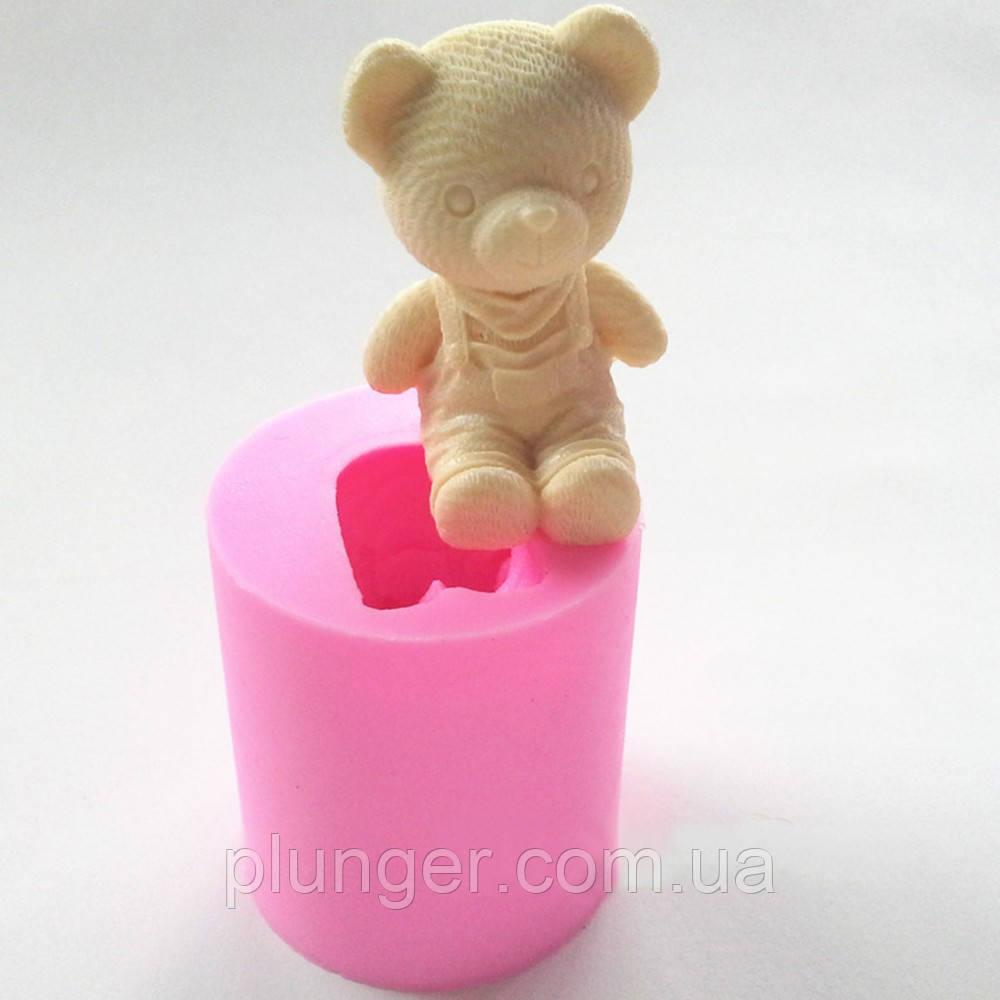 Молд кондитерський силіконовий для мастики Ведмедик 3Д