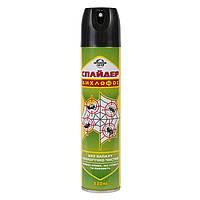 Спайдер дихлофос,без запаха, уничтожает насекомых ползающих и летающих,330 мл.