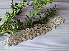 Ожерелье-чокер Камни с цветами. Колье с камнями, фото 4