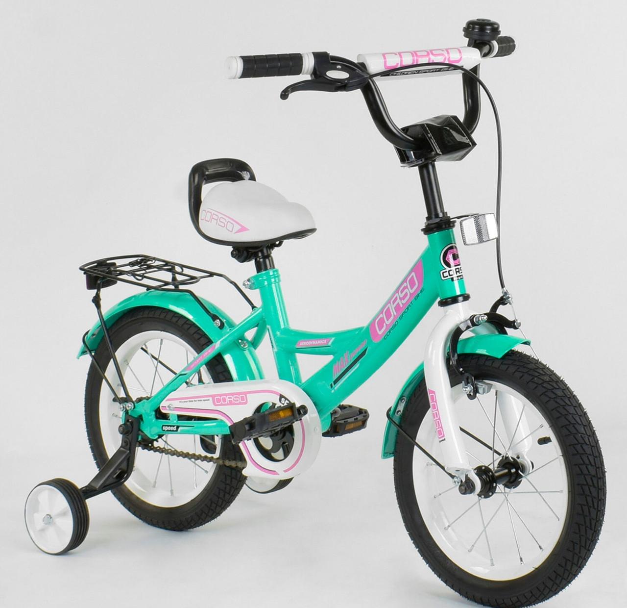 Велосипед дитячий Corso 14 дюймів 0211