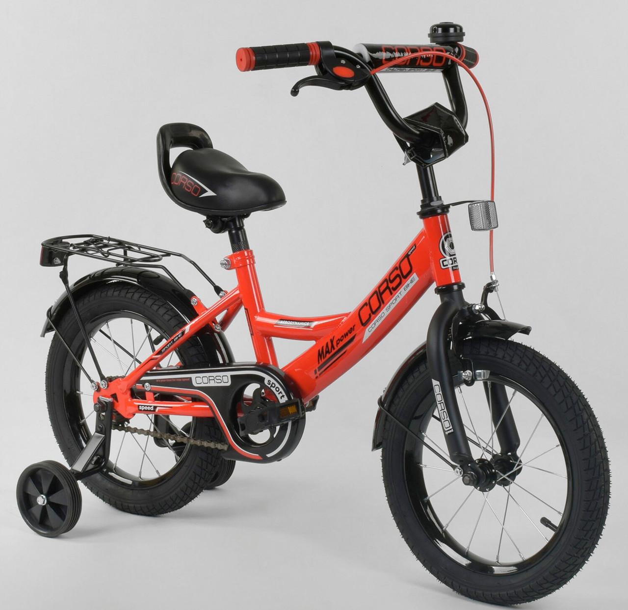Велосипед дитячий Corso 14 дюймів 0106