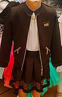 Школьная юбка, блузка ,пиджак комплектом и отдельно, цвета разные, рост 128 -152 ( 7- 12 лет) - L 2025