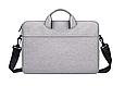 Мужская сумка портфель для документов - серый, фото 2