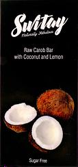 Шоколад на кэробе Switay Кокос и Лимон (100 грамм)